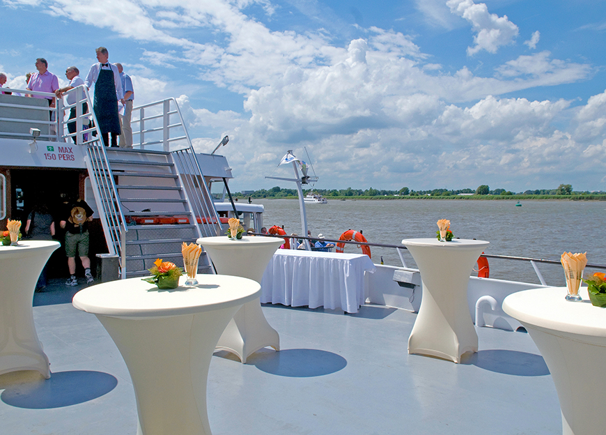 Your corporate event on board