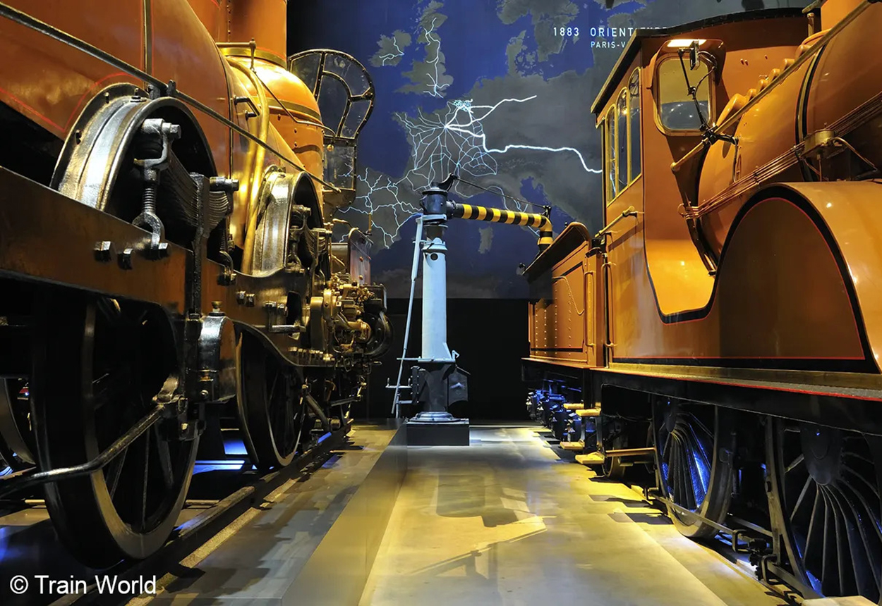 Discover the new and surprising Train World